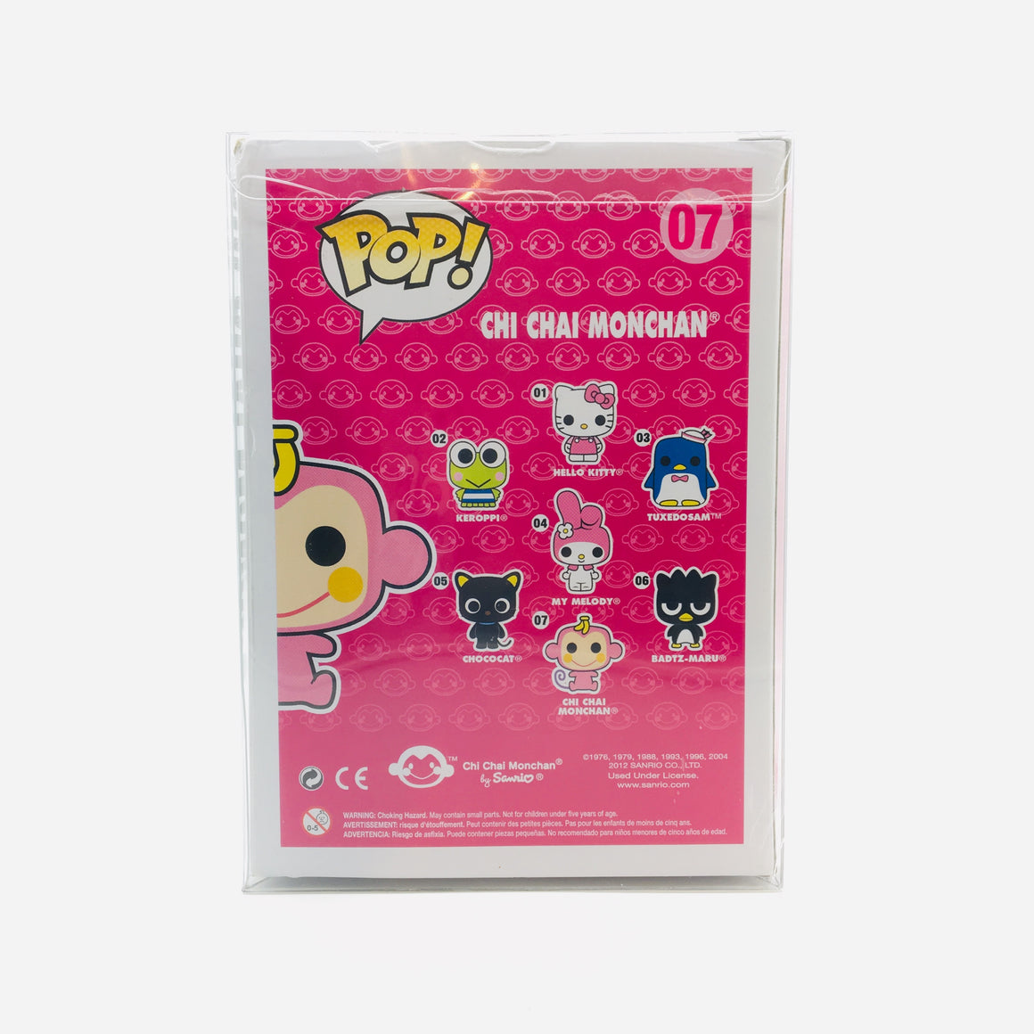 Sanrio Chi Chai Monchan Pop Toy Figure #07 Vaulted by Funko