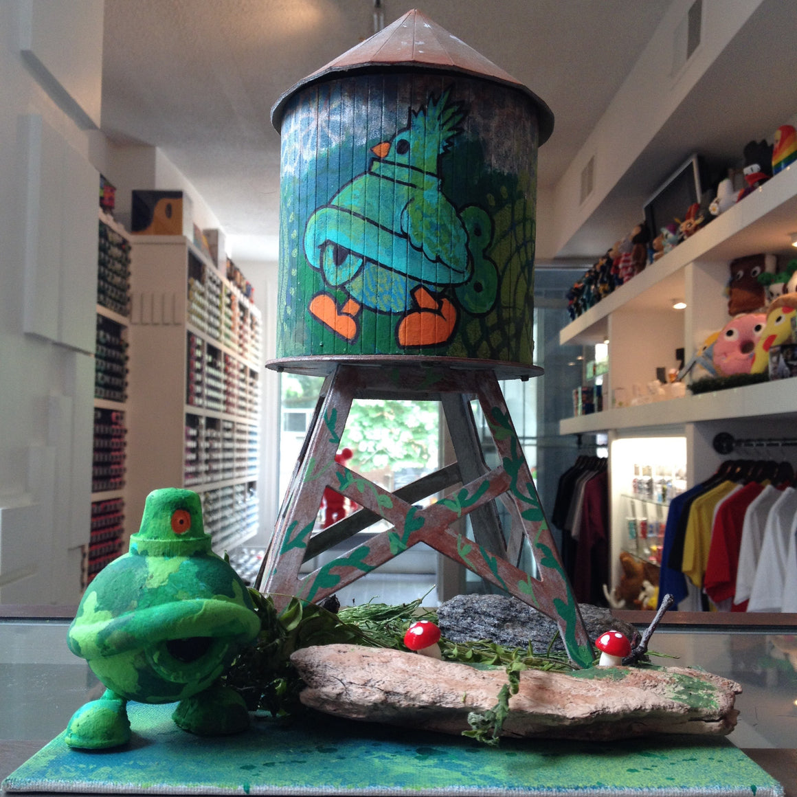 Turtle Caps Custom Boundless Brooklyn Water Tower - Mindzai  - 1