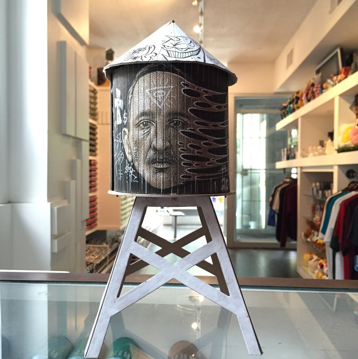 Paul Jackson Custom Boundless Brooklyn Water Tower - Mindzai  - 1