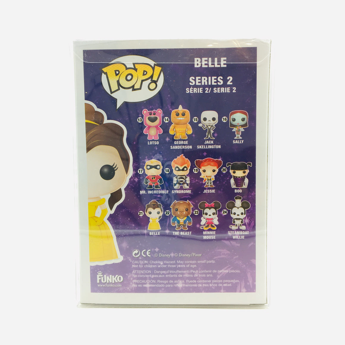 Disney Belle Pop Toy Figure #21 Vaulted by Funko