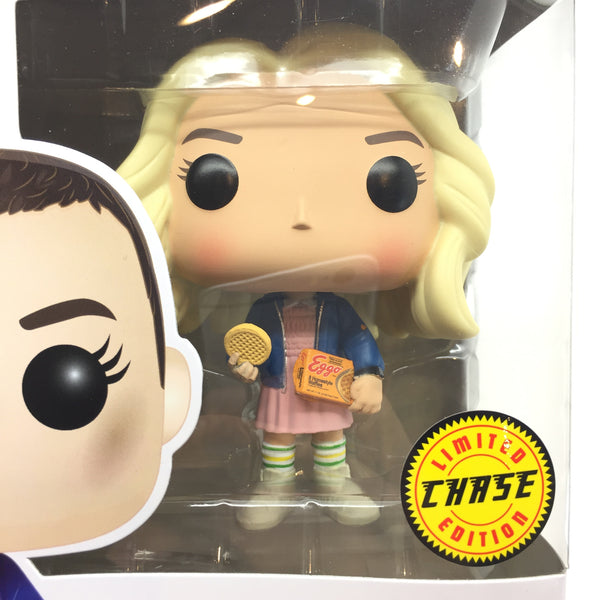Eleven With Eggos Blonde Wig Limited Chase Edition Vinyl