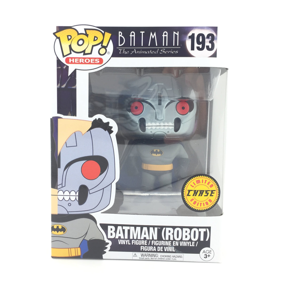 Batman Robot Chase POP! Vinyl Figure from Batman Animated Series by Funko
