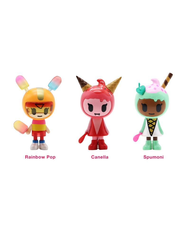 Ice Cream Girls 3-Pack Set by Tokidoki