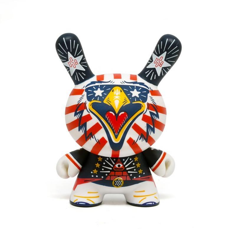 Indie Eagle 3-Inch Dunny by Kris Kronk x Kidrobot