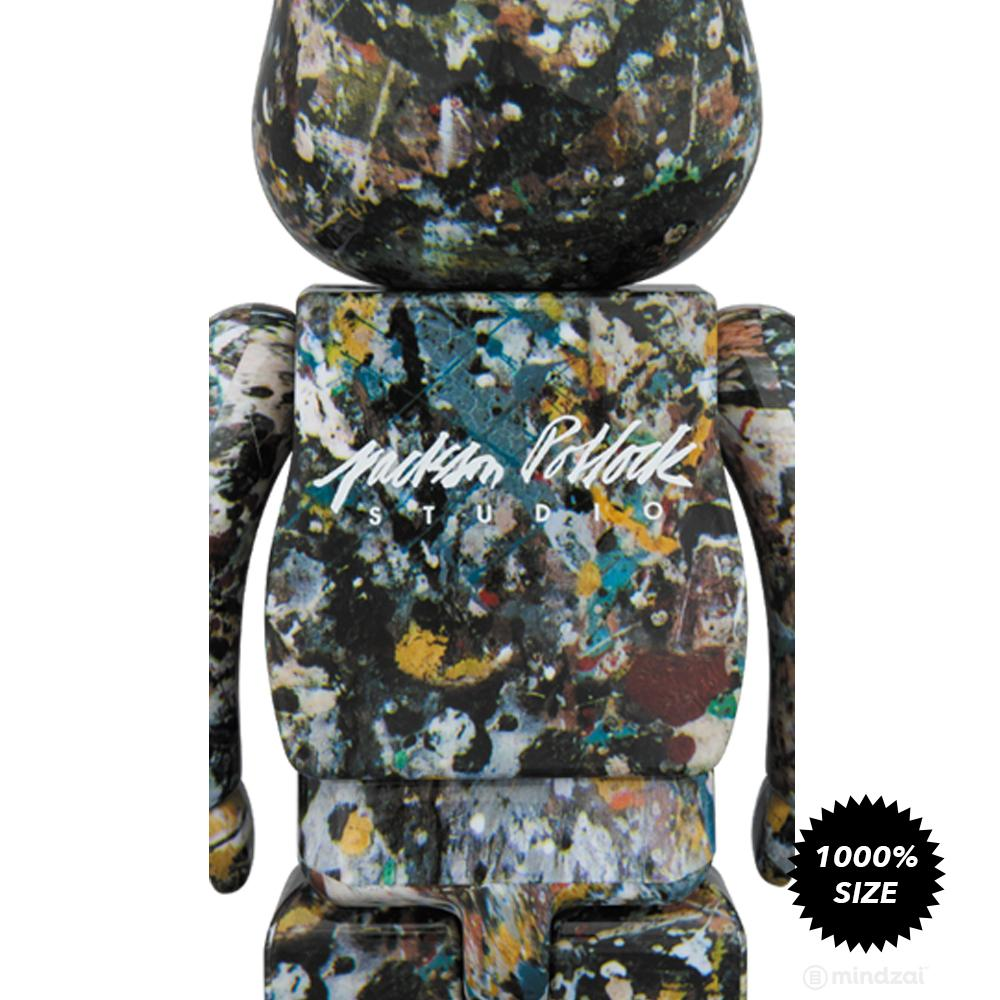Jackson Pollock Version 2.0 1000% Bearbrick by Medicom Toy
