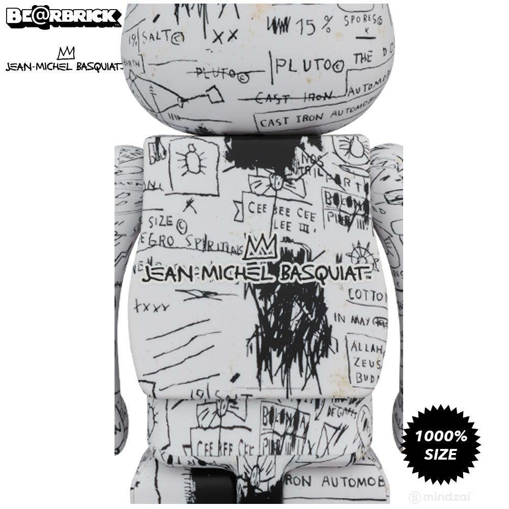 Jean-Michel Basquiat #3 1000% Bearbrick by Medicom Toy - Pre-order