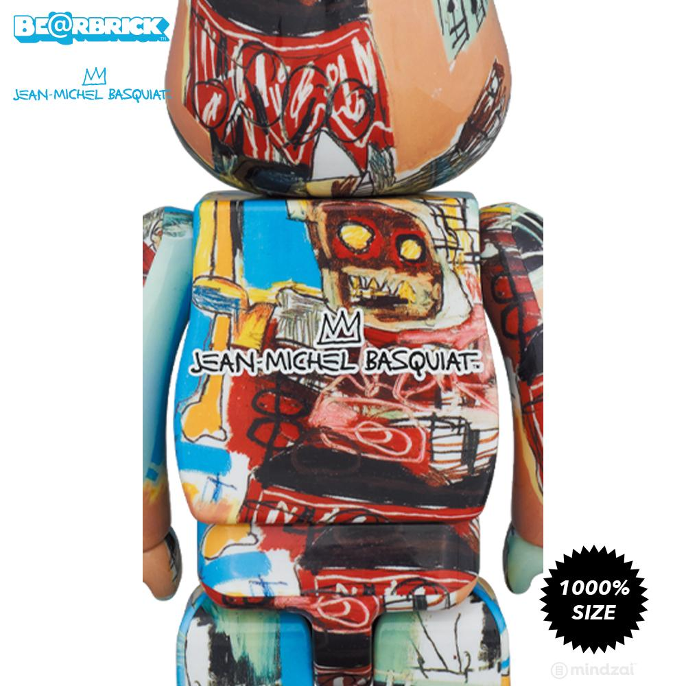 *Pre-order* Jean-Michel Basquiat #6 1000% Bearbrick by Medicom Toy