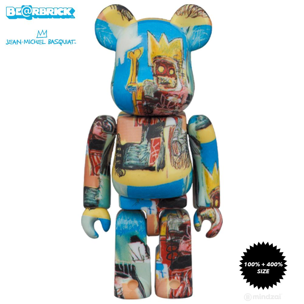 *Pre-order* Jean-Michel Basquiat #6 100% + 400% Bearbrick Set by Medicom Toy