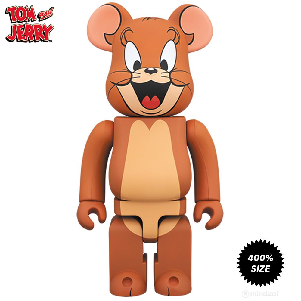 *Pre-order* Tom and Jerry 400% Bearbrick by Medicom Toy
