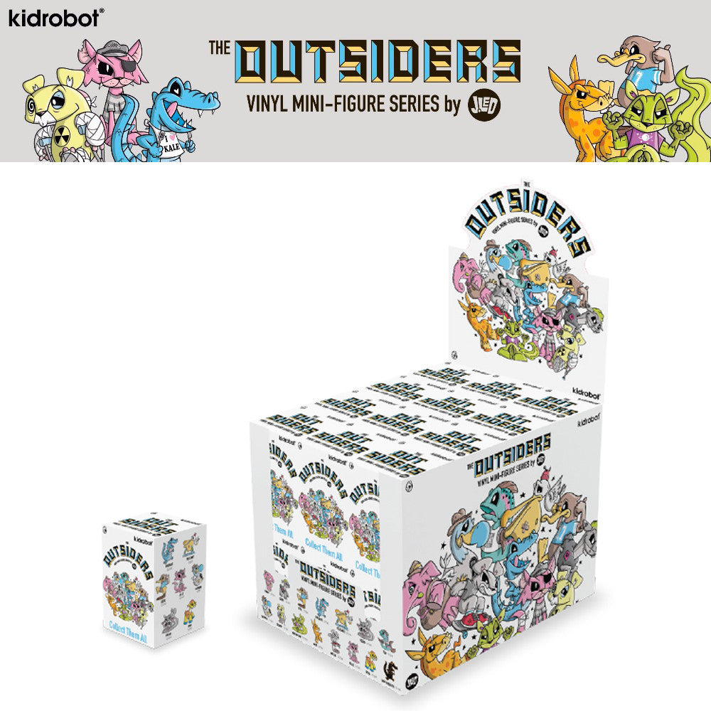The Outsiders Blind Box Series by Joe Ledbetter - Pre-order - Mindzai  - 1