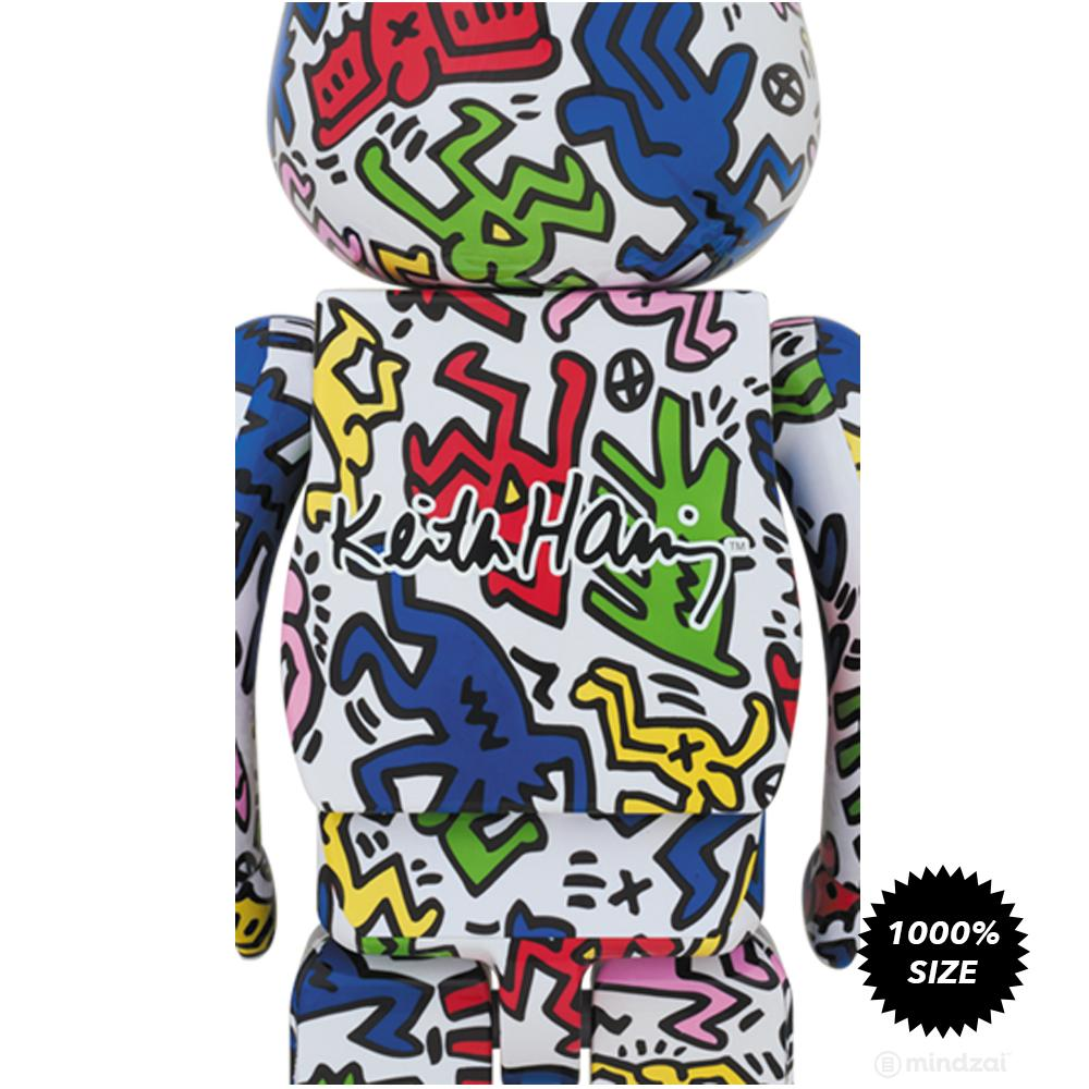 Keith Haring 1000% Bearbrick