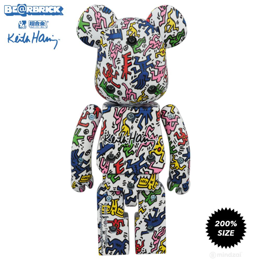 Keith Haring #1 Super Metal Alloy 200% Bearbrick by Medicom Toy