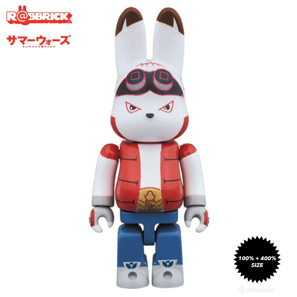 King Kazuma Summer Wars 100% and 400% Rabbrick Set - Pre-order