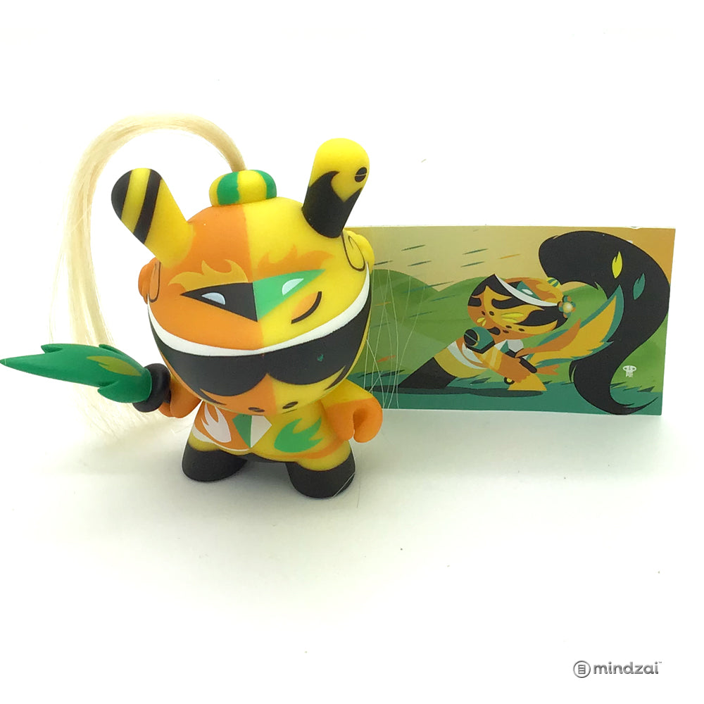 Art of War Dunny Series - Knight (Yellow)