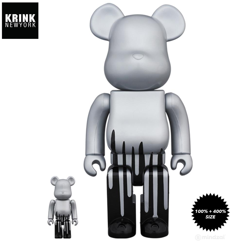 Krink 100% + 400% Bearbrick Set by Krink x Medicom Toy - Pre-order