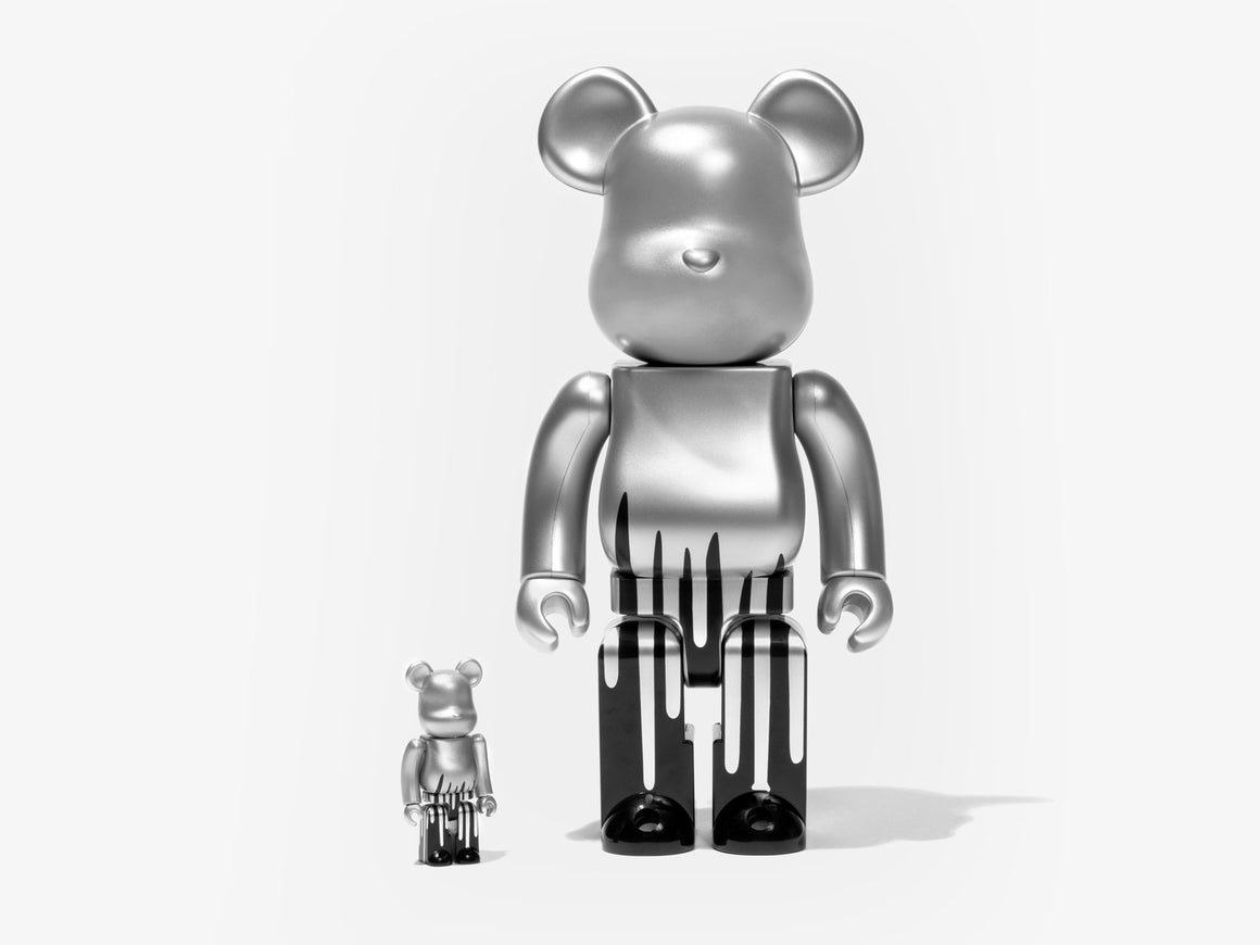 Krink 100% + 400% Bearbrick Set by Krink x Medicom Toy