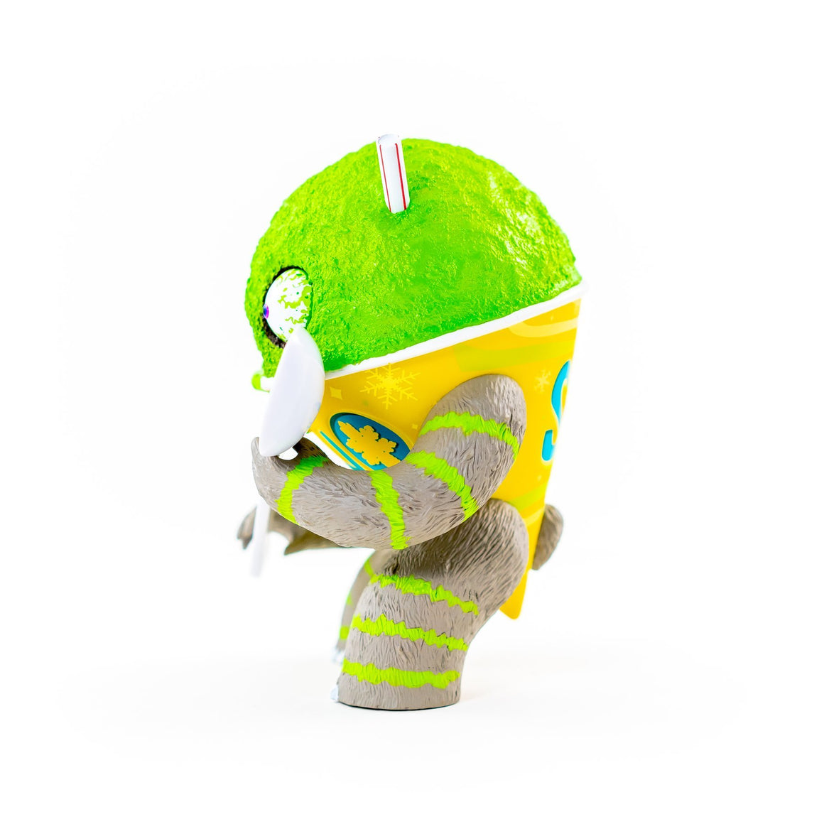 Abominable Snow Cone 2nd Serving - Lime Edition by Jason Limon x Martian Toys