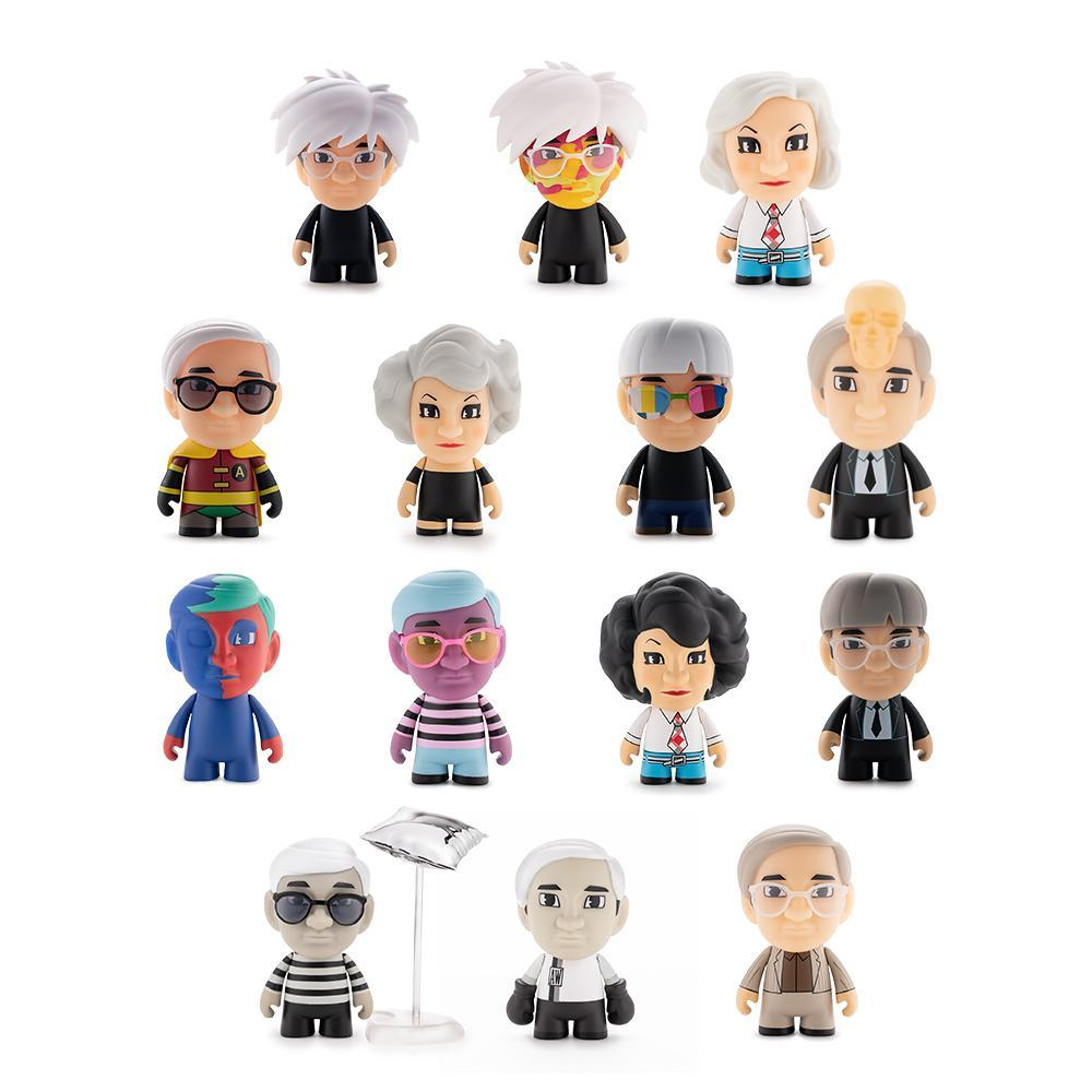 Many Faces Of Andy Warhol Vinyl Mini Series by Kidrobot