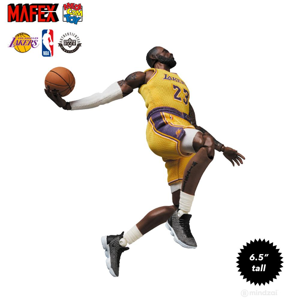 *Pre-order* Lebron James Los Angeles Lakers Mafex 6.5-Inch Toy Figure by Medicom Toy