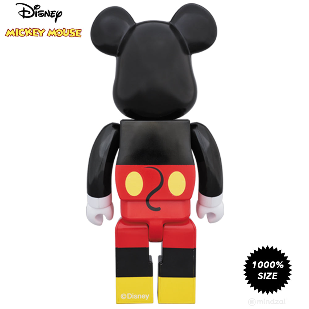 Disney Mickey Mouse 1000% Bearbrick by Medicom Toy