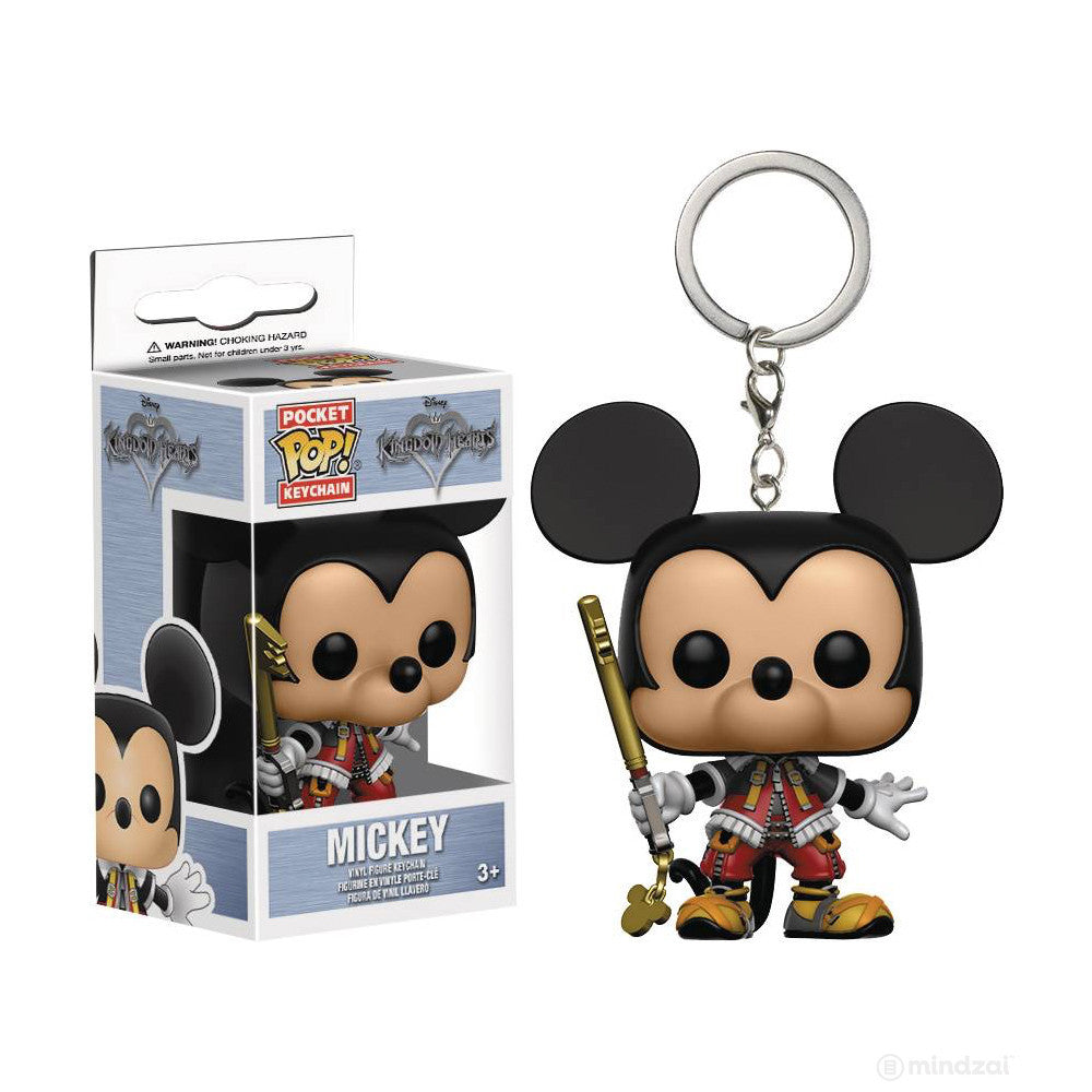 Mickey Mouse Kingdom Hearts Pocket POP Keychain
