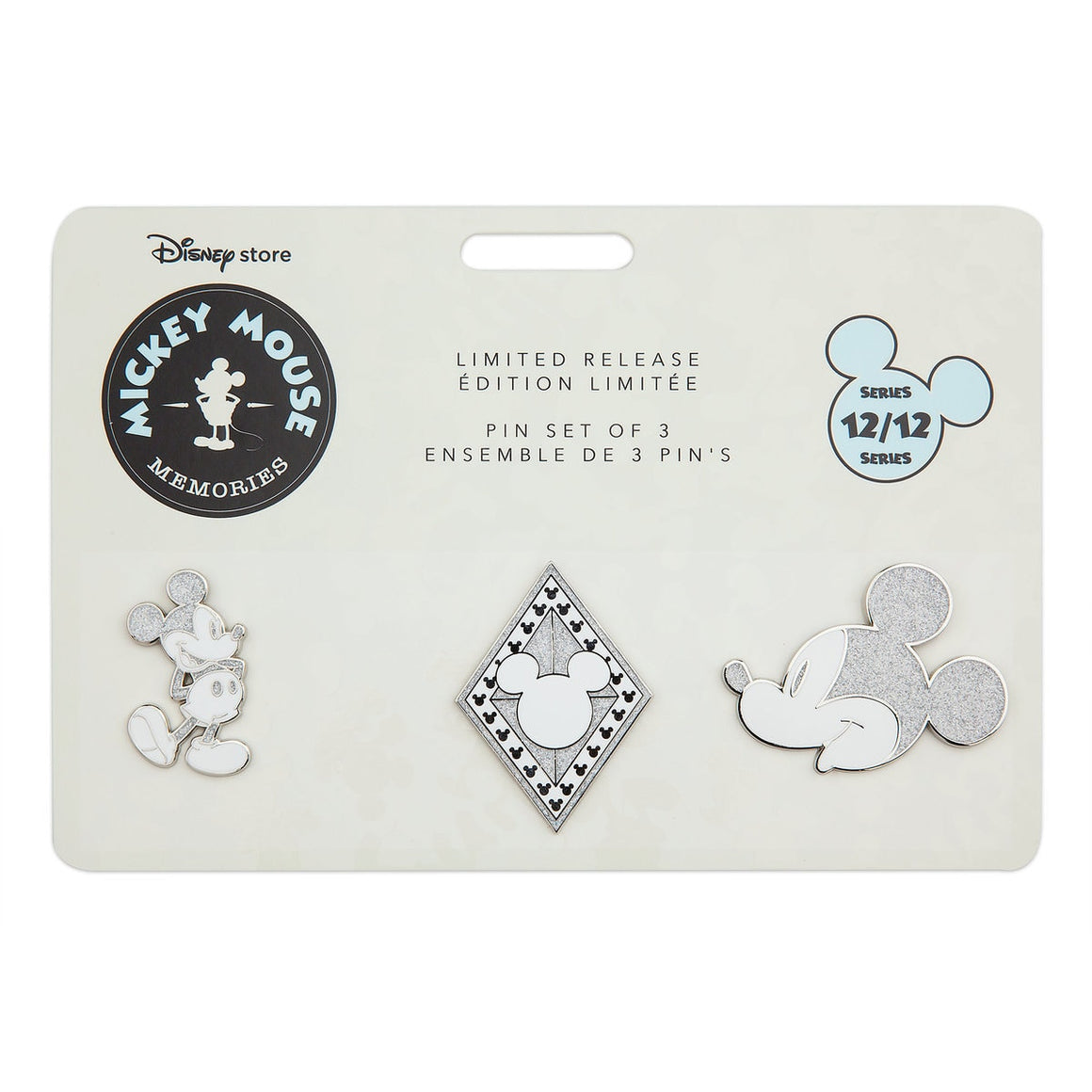 Mickey Mouse Memories Pin Set - December (Limited Edition)