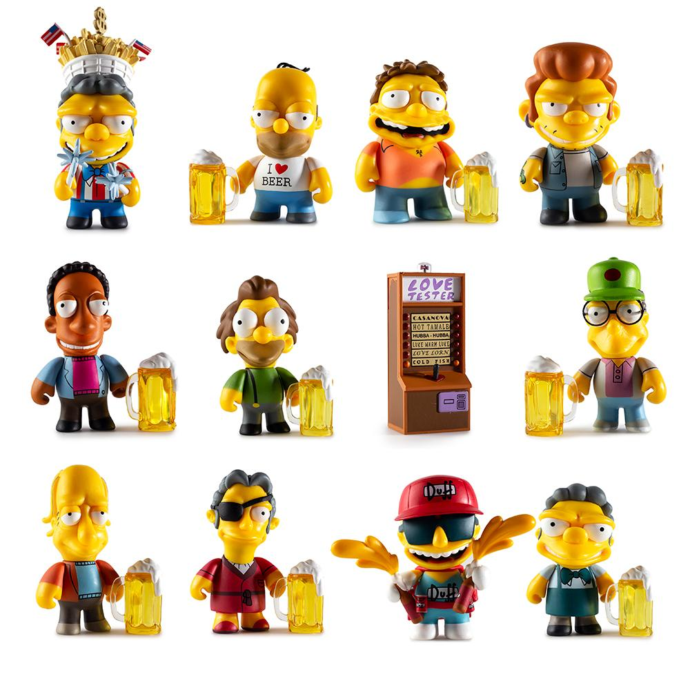 Moe's Tavern Blind Box Mini Series by The Simpsons x Kidrobot