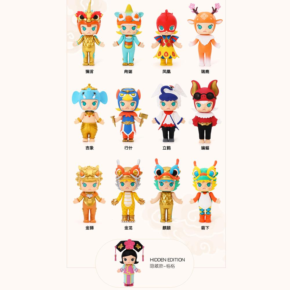 Molly Forbidden City Blind Box Toy by Kennyswork x POP MART