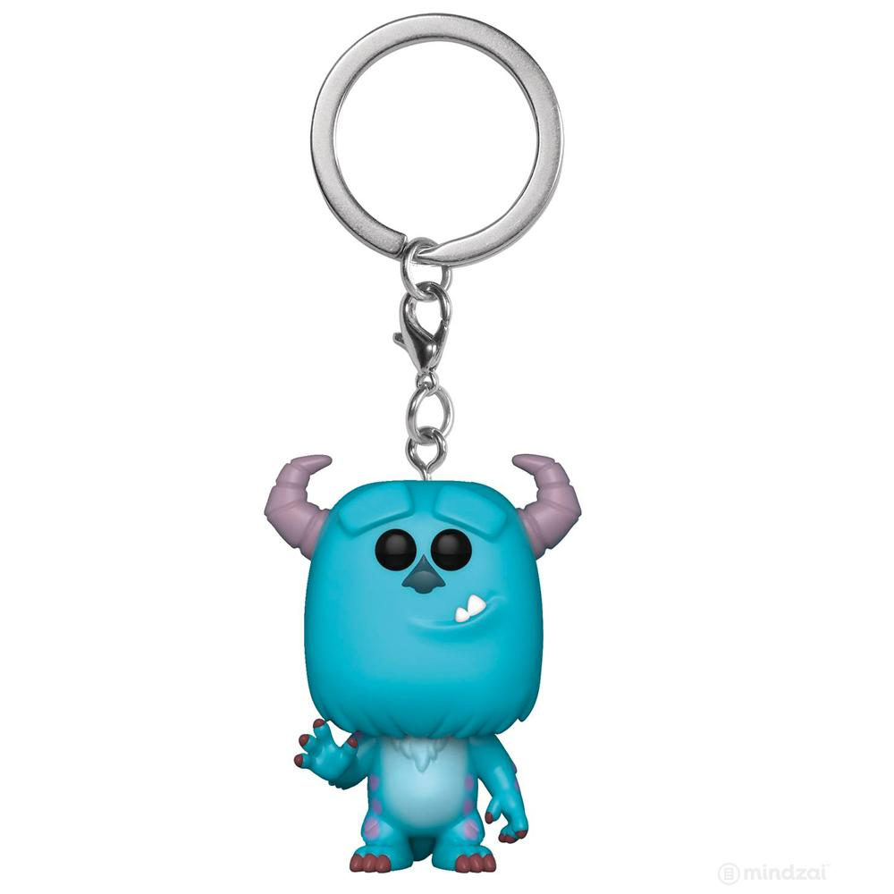 Disney Pixar Sulley Monsters Inc Pocket Pop Keychain by Funko