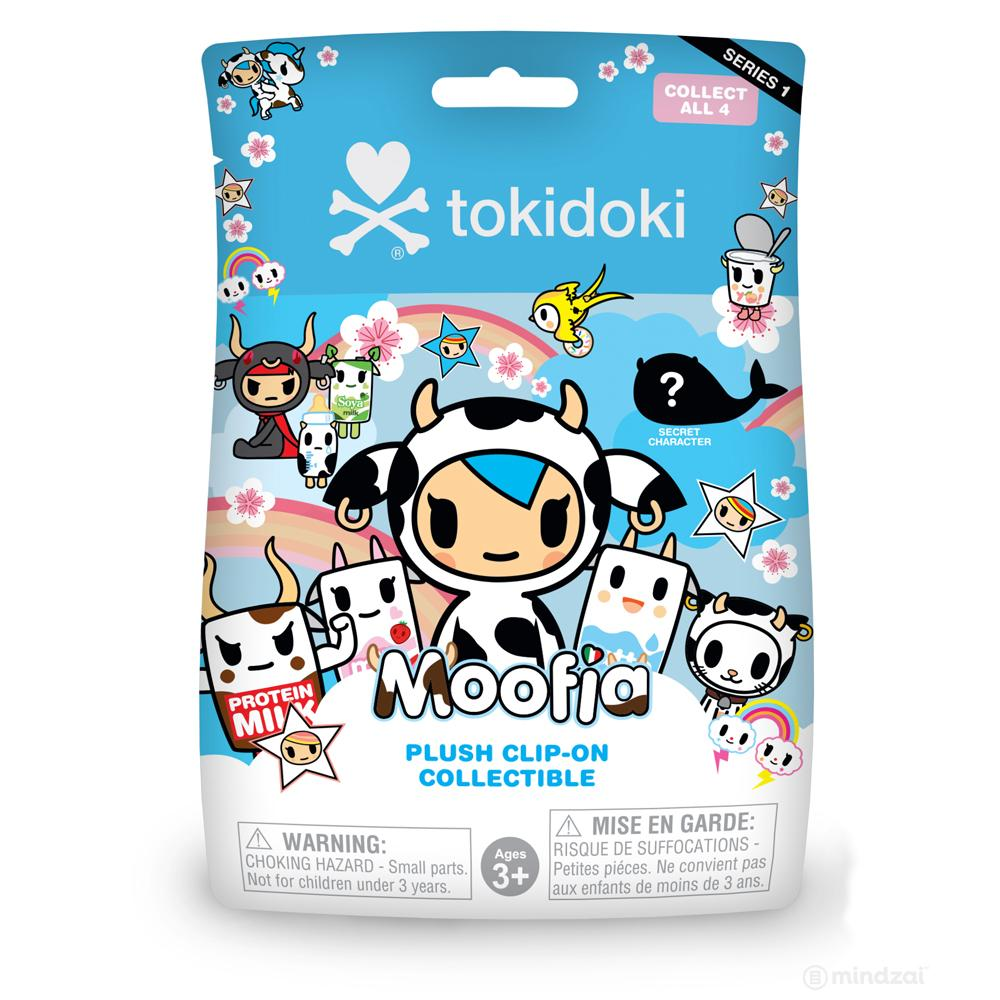 Moofia Plush Clip-on Collectible Series 1 Blind Bag by Tokidoki