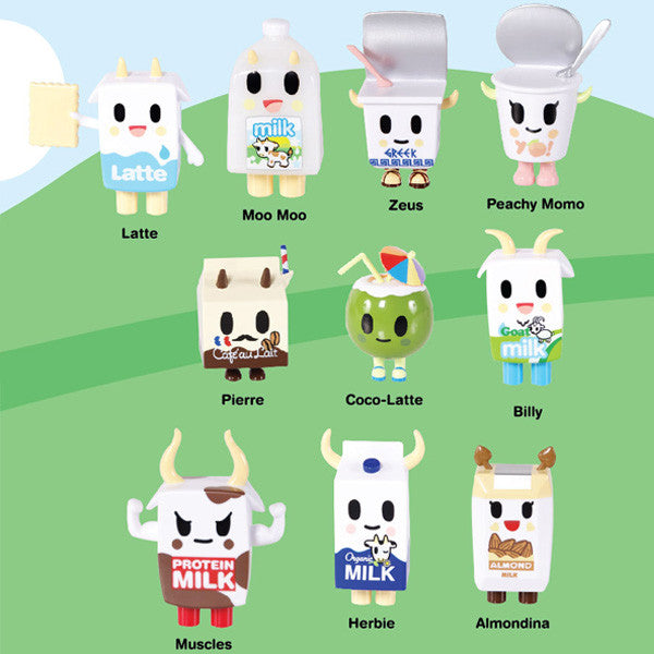 Moofia Series 2 Blind Box Toy Figures by Tokidoki - Mindzai  - 2