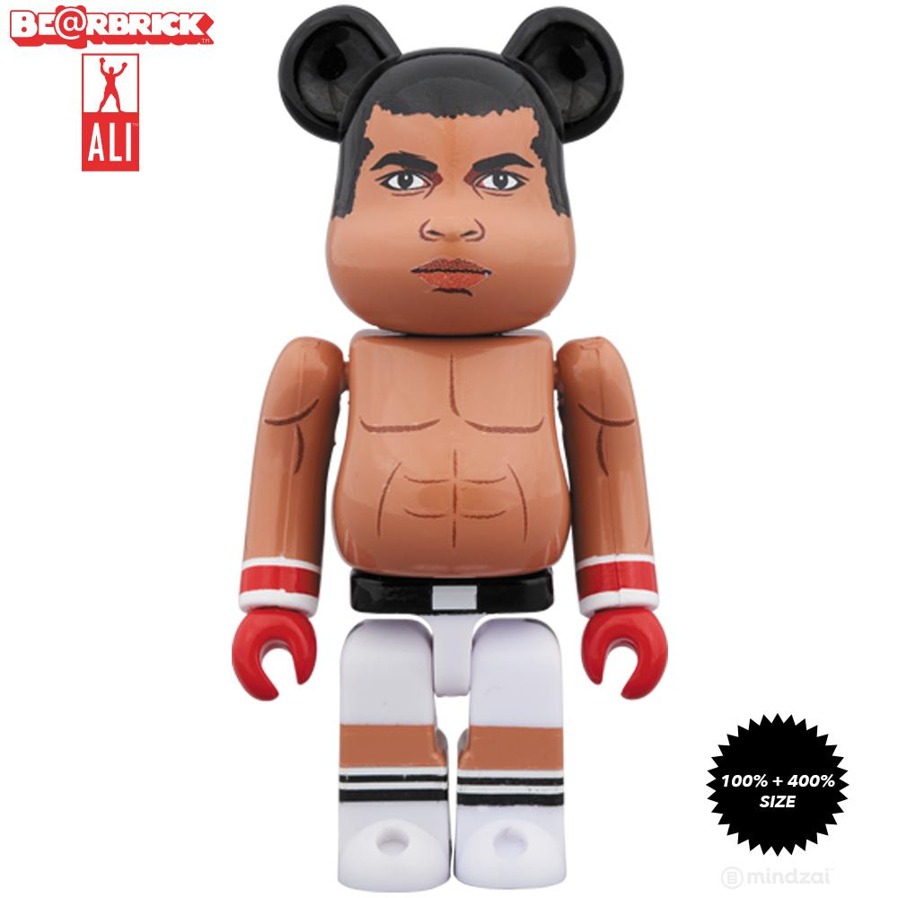 Muhammad Ali 100% + 400% Bearbrick Set by Medicom Toy - Pre-order