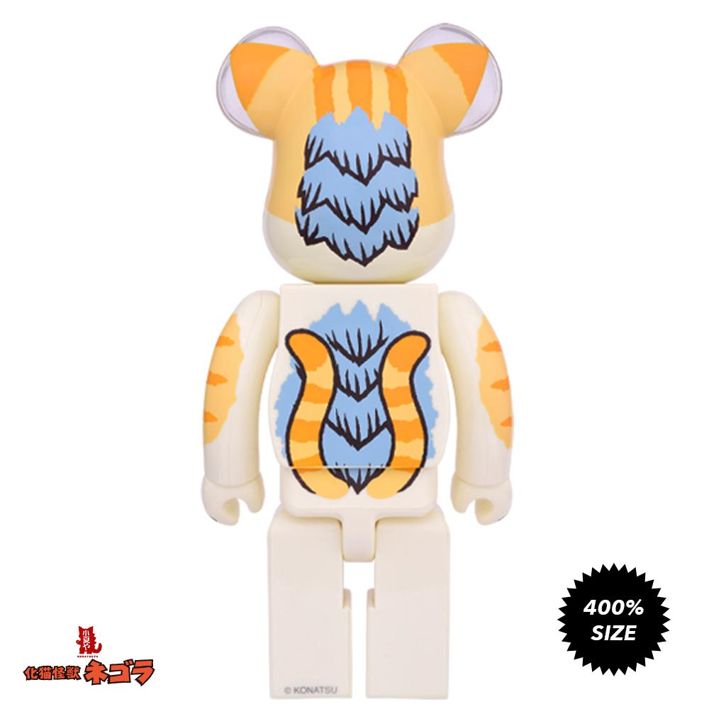 Negora Kaiju Cat Odd Eye 400% Bearbrick by Konatsu x Medicom Toy