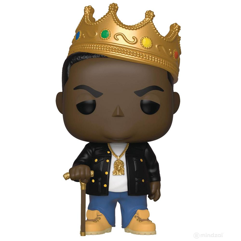 Notorious BIG B.I.G. with Crown POP! Vinyl Figure by Funko