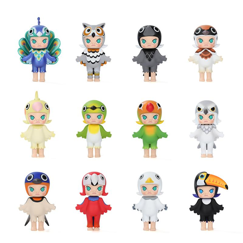 Molly Birdy Blind Box Series by Kennyswork x POP MART