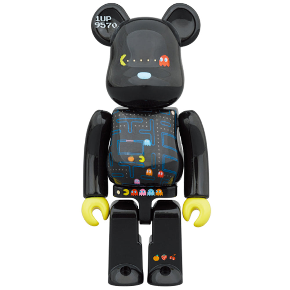 *Pre-order* Pac-Man 100% + 400% Bearbrick Set by Medicom Toy