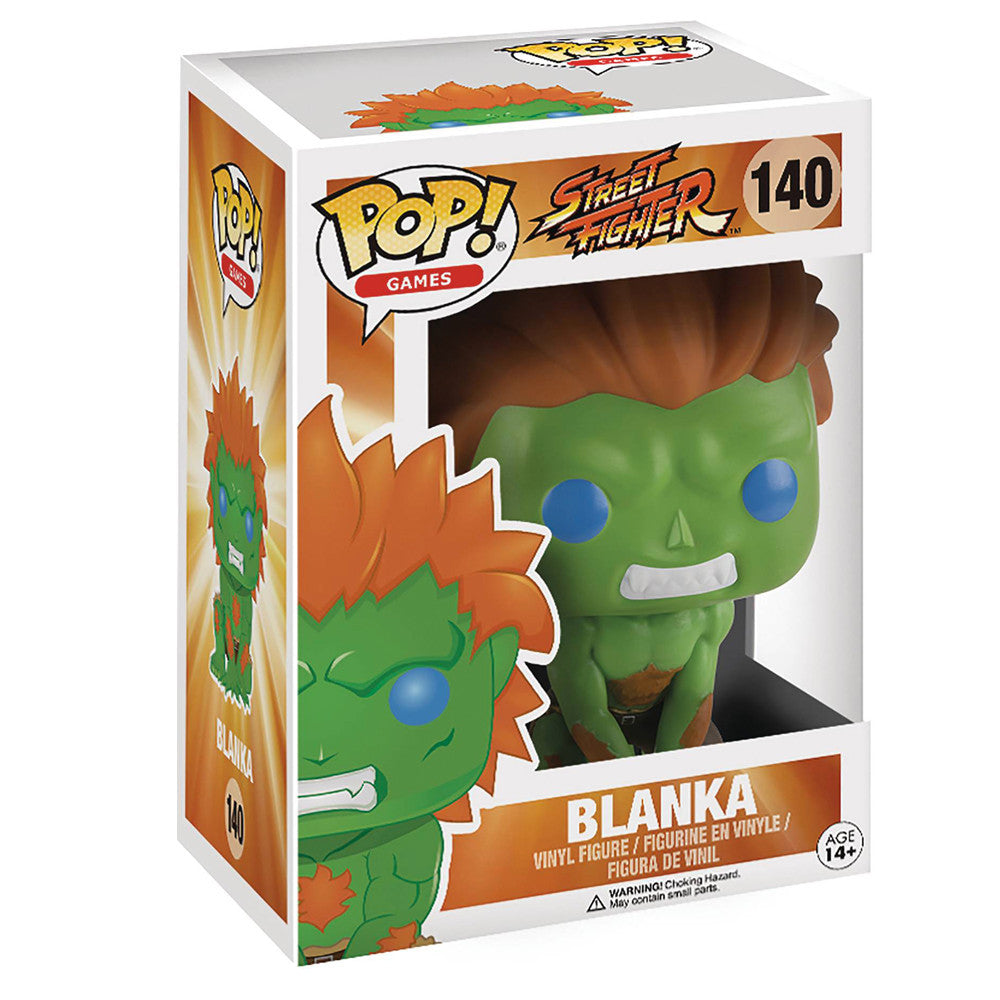 Street Fighter Blanka POP Vinyl Figure - Mindzai