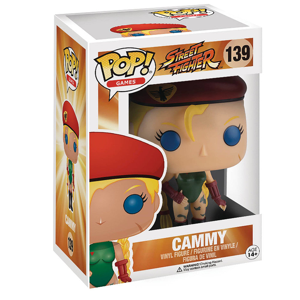 Street Fighter Cammy POP Vinyl Figure