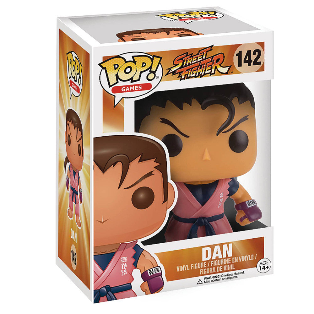 Street Fighter Dan POP Vinyl Figure