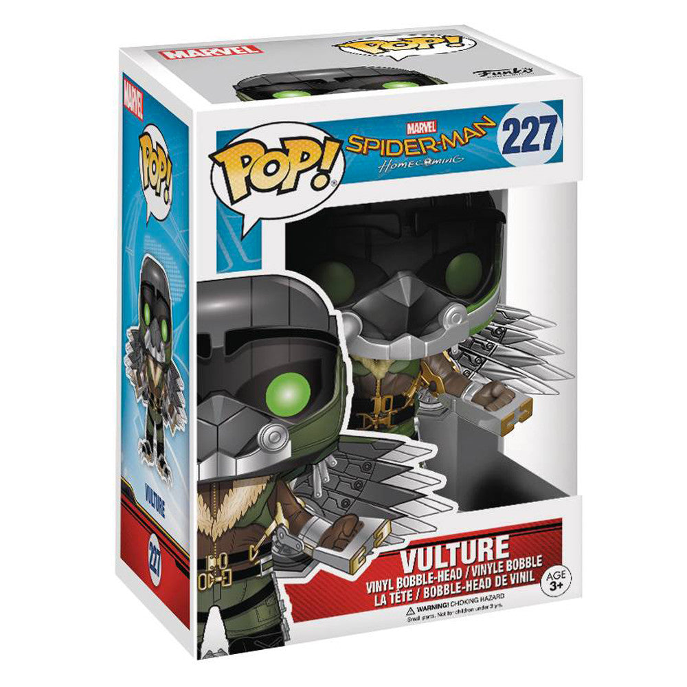 Spiderman: Homecoming Vulture Pop Vinyl Figure - Pre-order