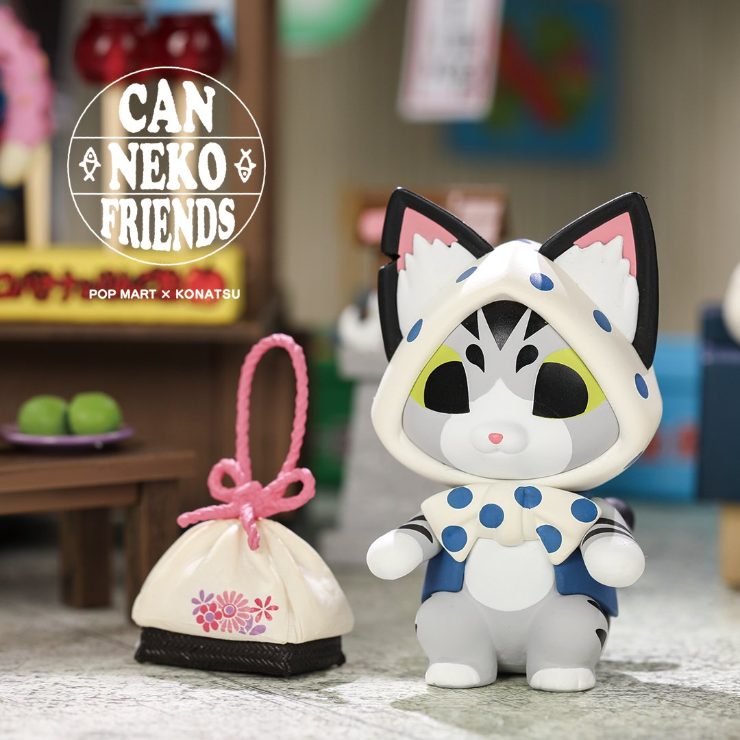 CanNeko Friends Blind Box Toy Series by Konatsu x POP MART