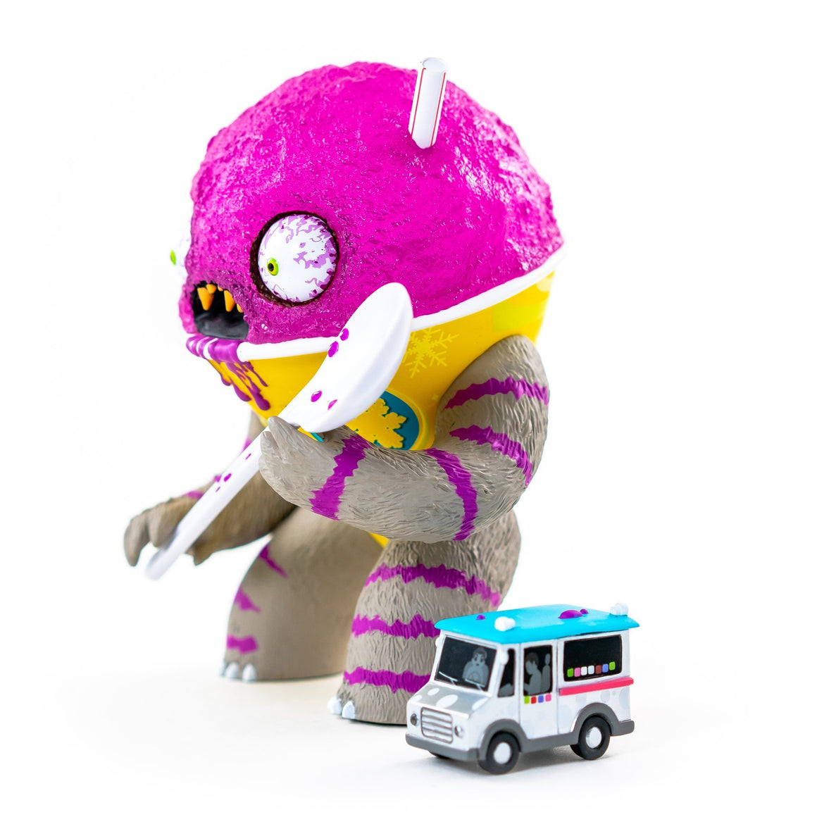 Abominable Snow Cone 2nd Serving - Grape Edition by Jason Limon x Martian Toys