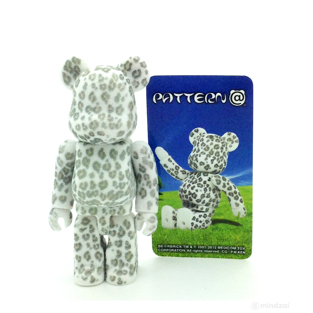 Bearbrick Series 30 - White and Grey Leopard (Secret Pattern)