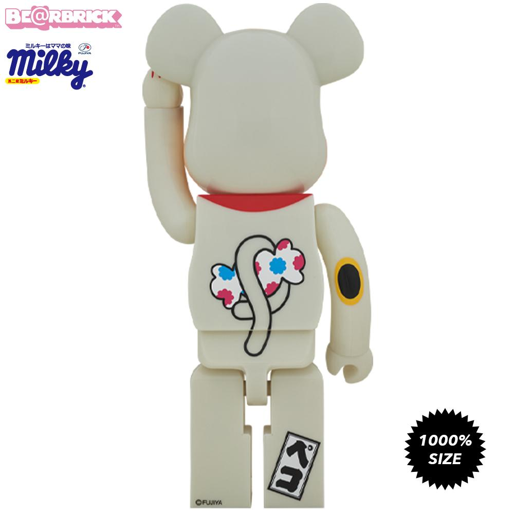 *Pre-order* Peko Chan Lucky Cat Glow In The Dark 1000% Bearbrick by Fujiya x Medicom Toy
