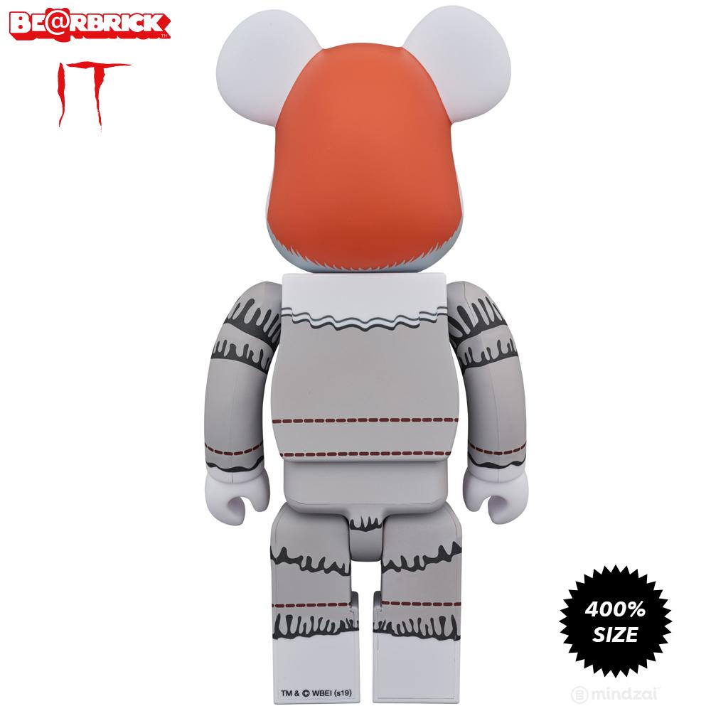 Pennywise IT Movie 400% Bearbrick Toy by Medicom Toy - Pre-order