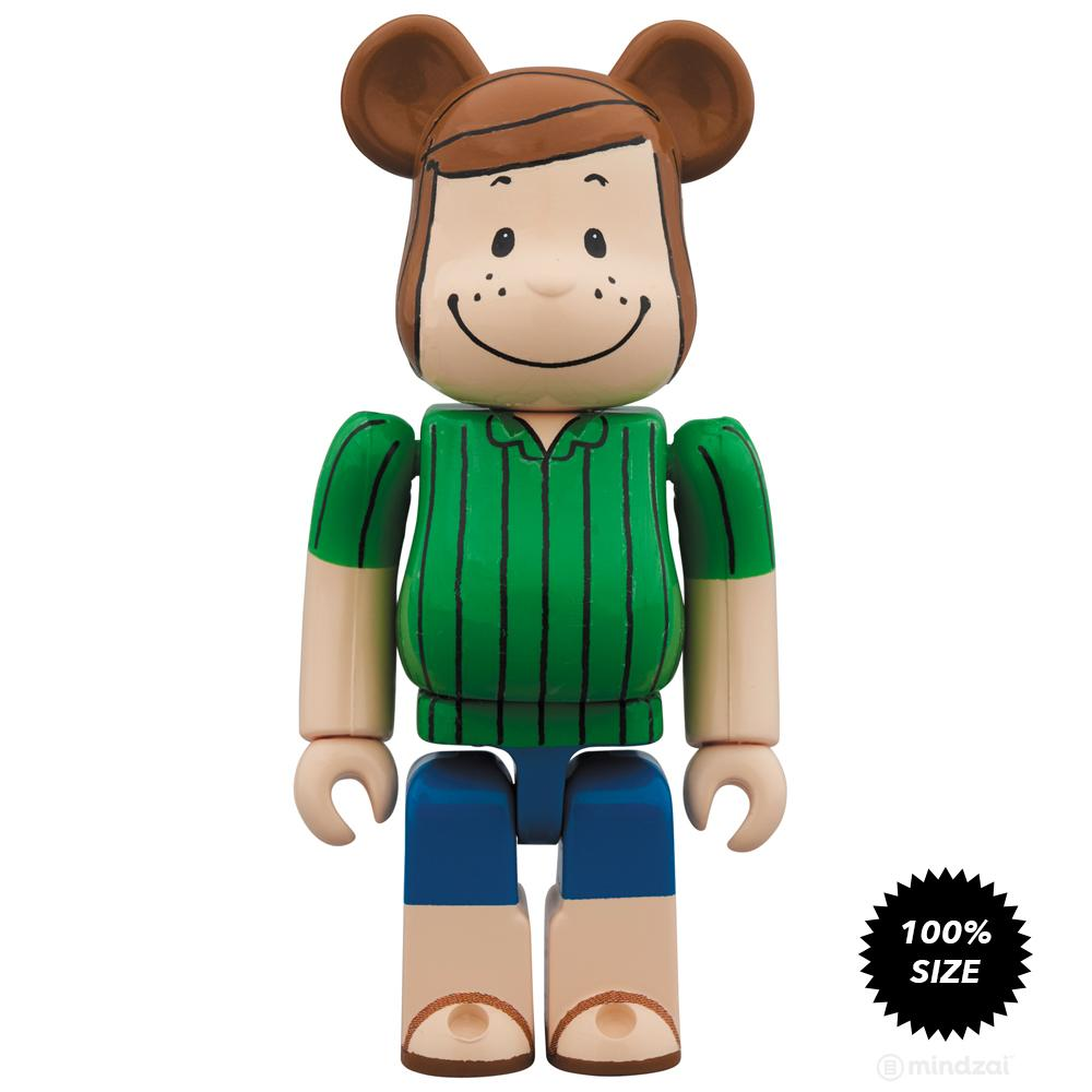 Peppermint Patty Peanuts 100% Bearbrick by Medicom Toy