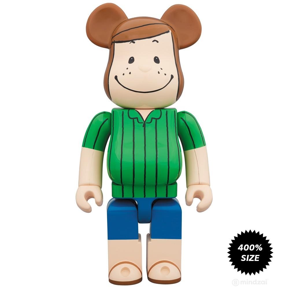 Peppermint Patty Peanuts 400% Bearbrick by Medicom Toy