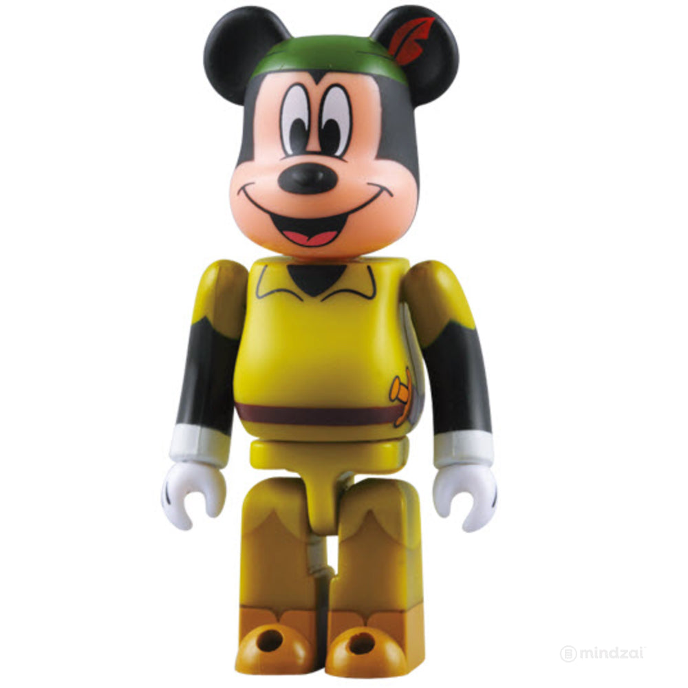 Mickey Mouse as Peter Pan Bearbrick 100% Size