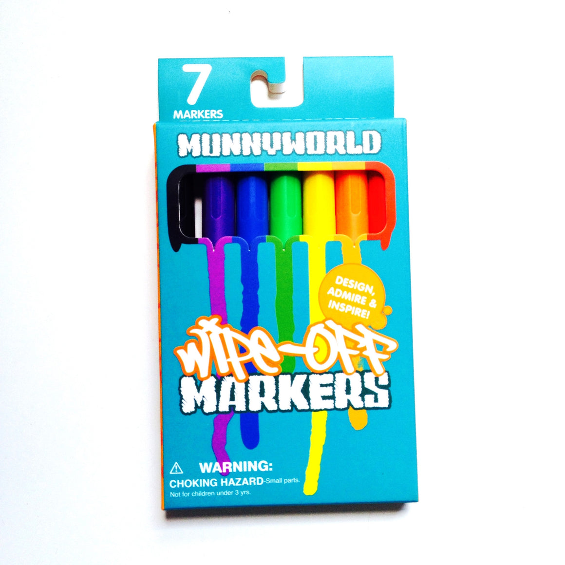 Munny World Wipe Off Markers by kidrobot - Mindzai