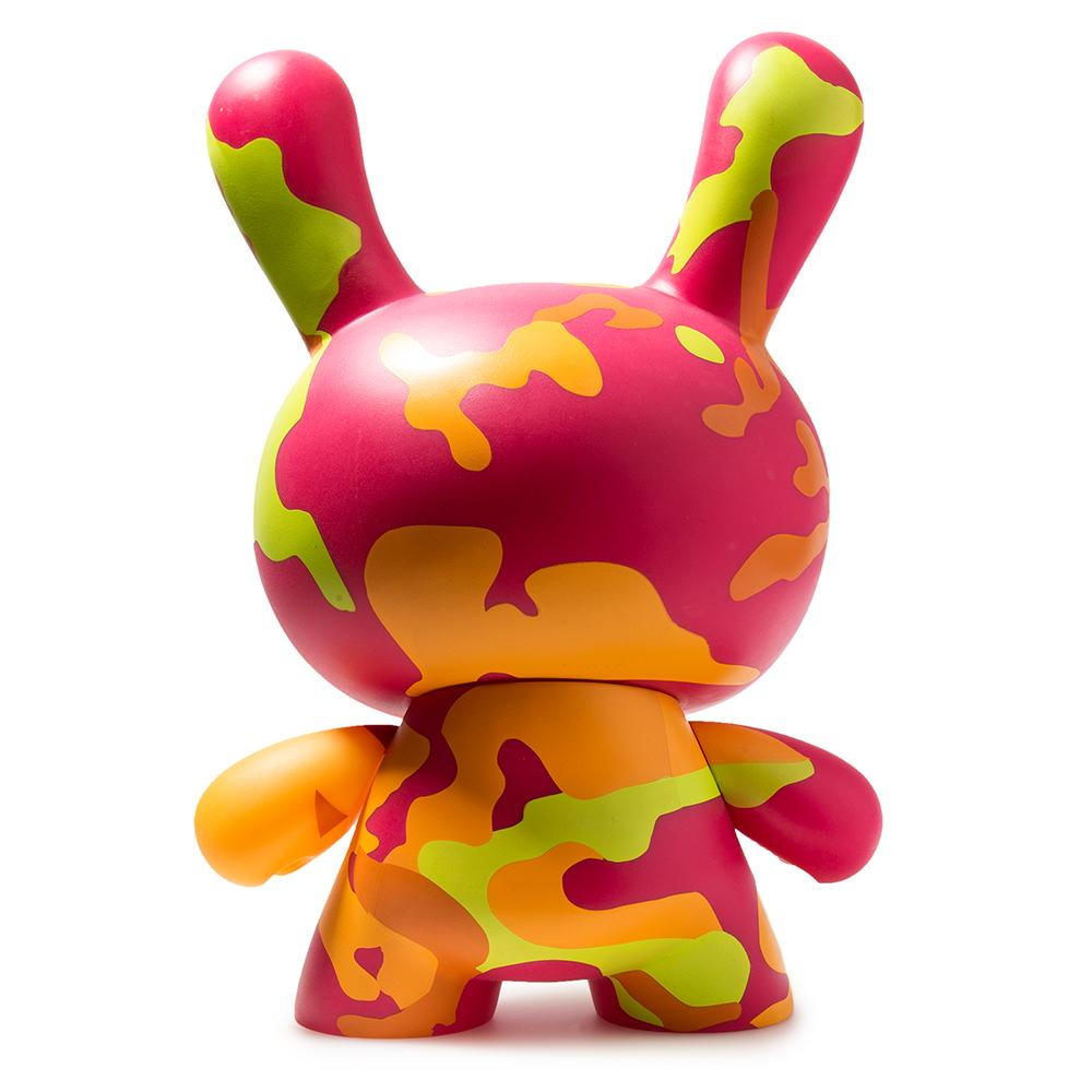 "Andy Warhol Pink Camo Masterpiece 8"" Dunny - Special Order"